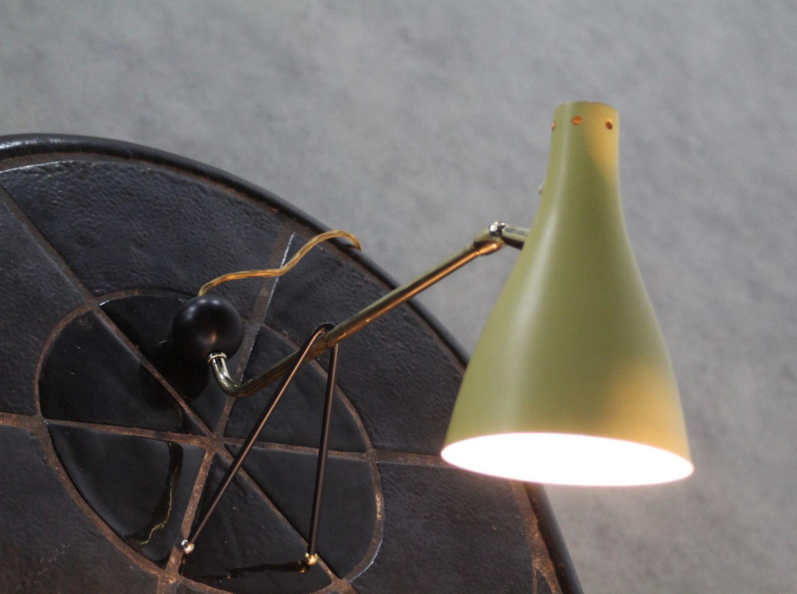 mid century modern tischlampen 1955 2er set bei pamono kaufen. Black Bedroom Furniture Sets. Home Design Ideas