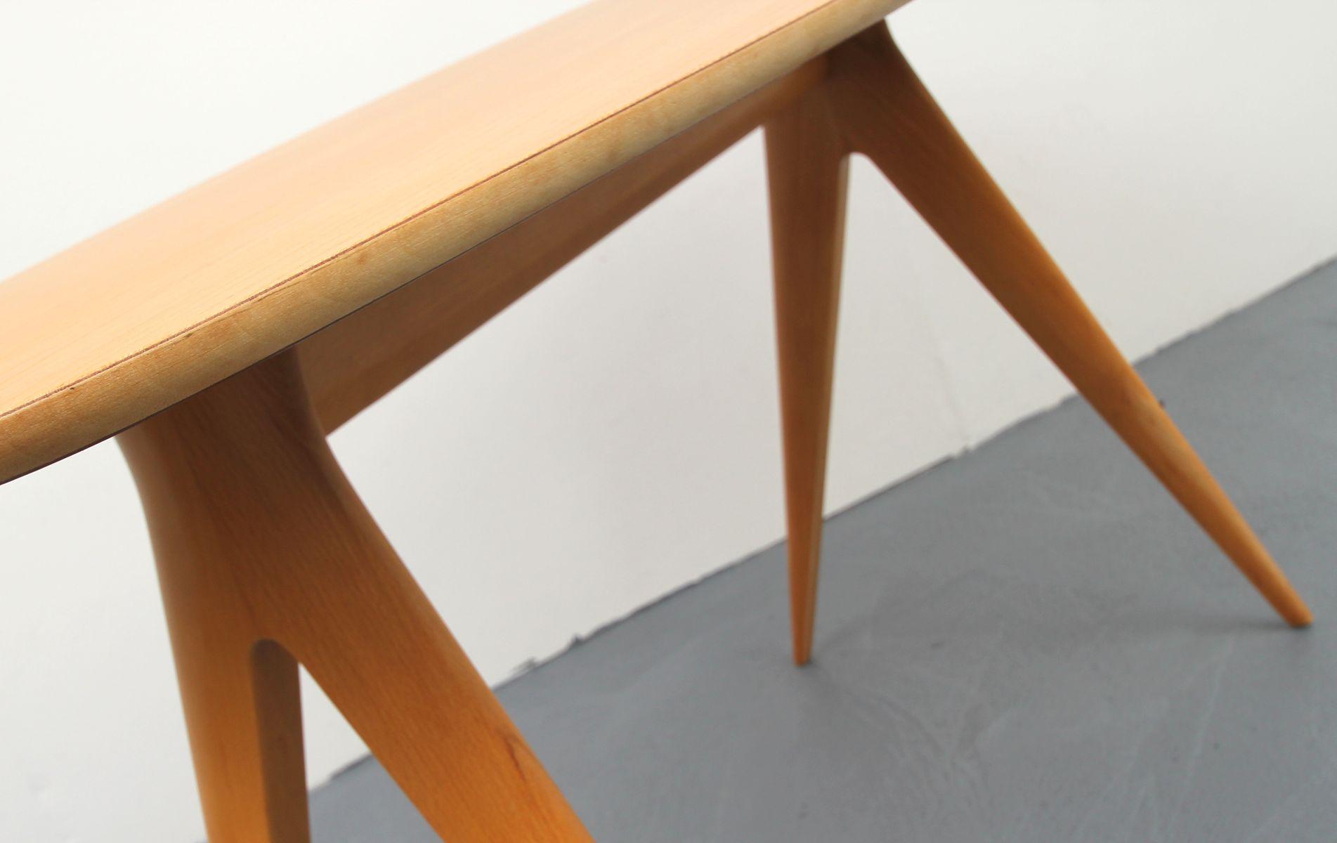 kirschholz couchtisch 1950er bei pamono kaufen. Black Bedroom Furniture Sets. Home Design Ideas