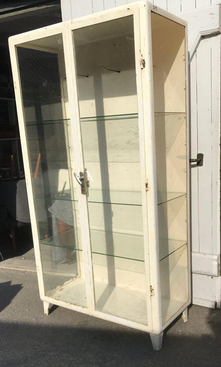 Vintage Steel Medical Cabinet for sale at Pamono