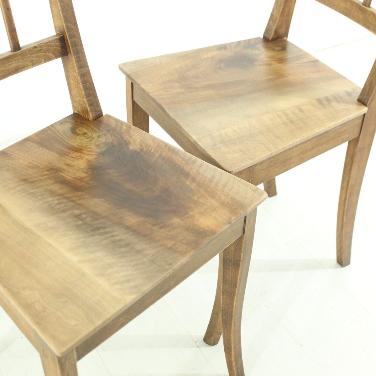 Antique Wooden Chairs 1890s Set Of 2 For Sale At Pamono