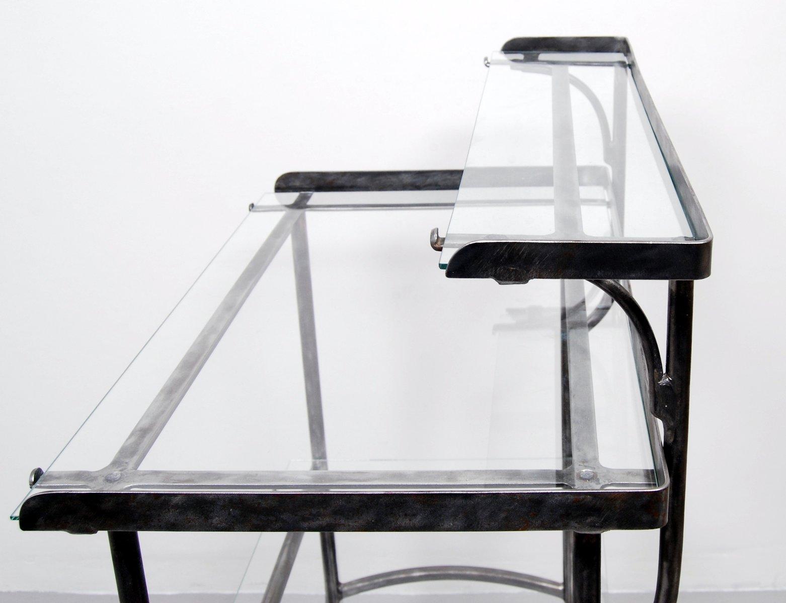 Antique Metal Dental Cabinet Vintage Swedish Dentist Trolley In Brushed Steel From Kifa For