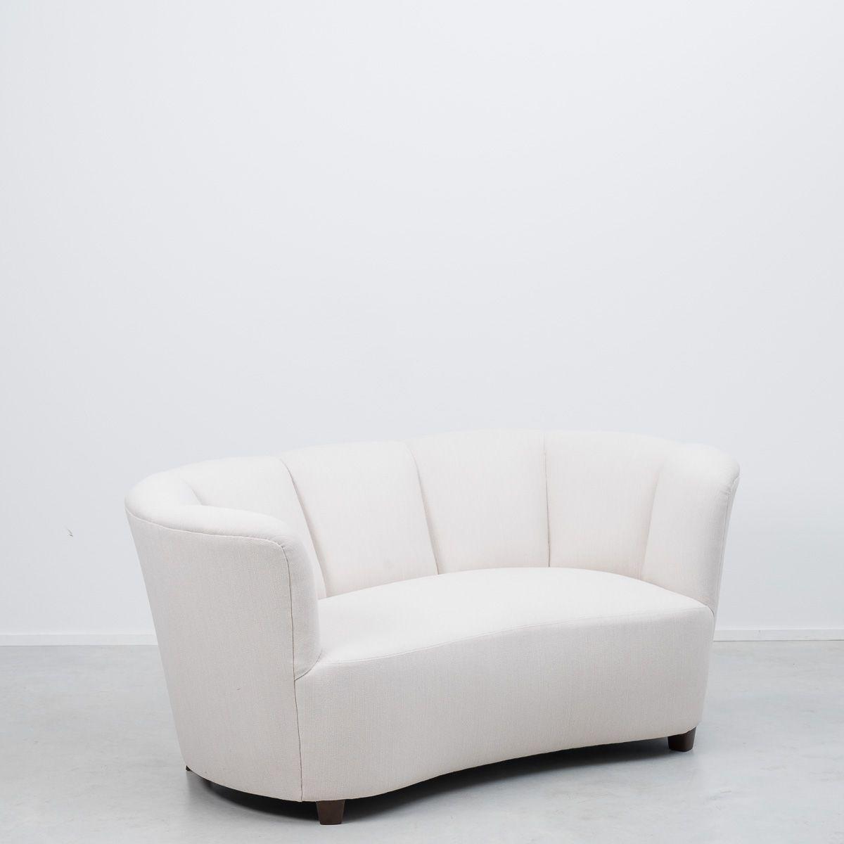 d nisches banana sofa 1940er bei pamono kaufen. Black Bedroom Furniture Sets. Home Design Ideas