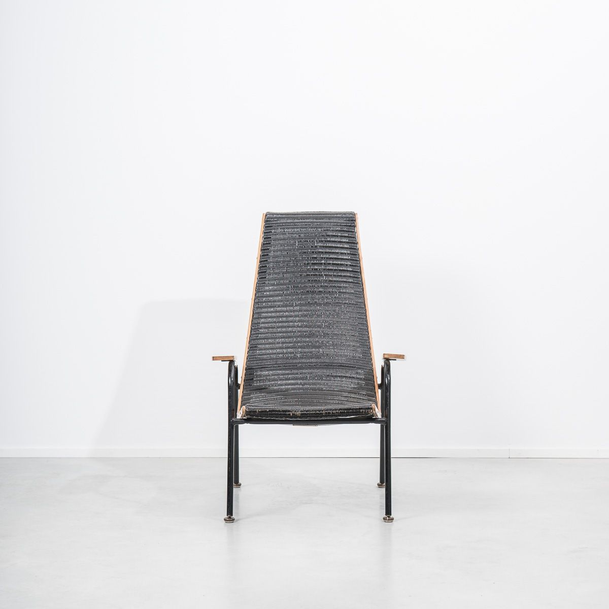 Mid Century Modernist Armchair By Lloyd Loom For Lusty For Sale At Pamono