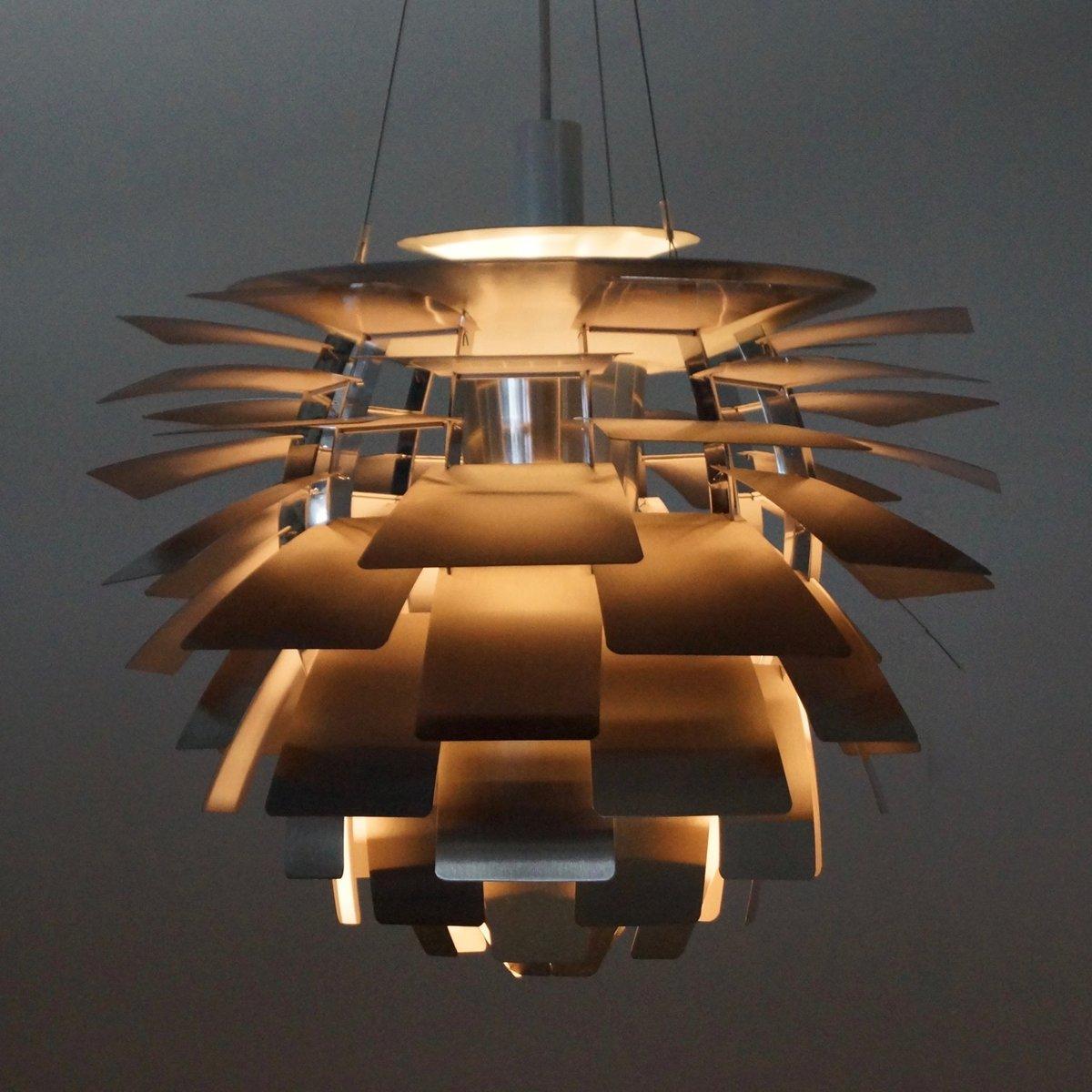 lampe artichoke par poul henningsen pour louis poulsen danemark 1960s en vente sur pamono. Black Bedroom Furniture Sets. Home Design Ideas