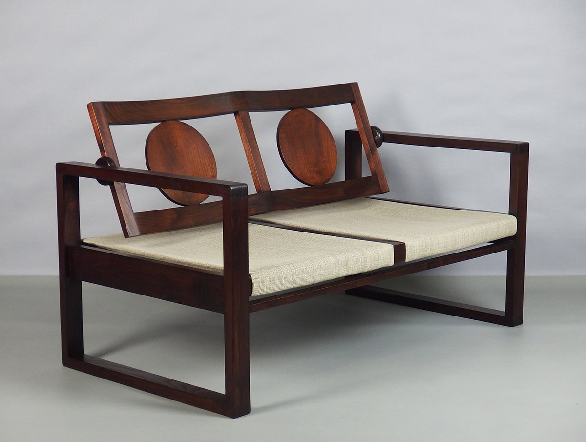 Basque modernist art deco bench 1930s for sale at pamono for Meuble art deco 1930
