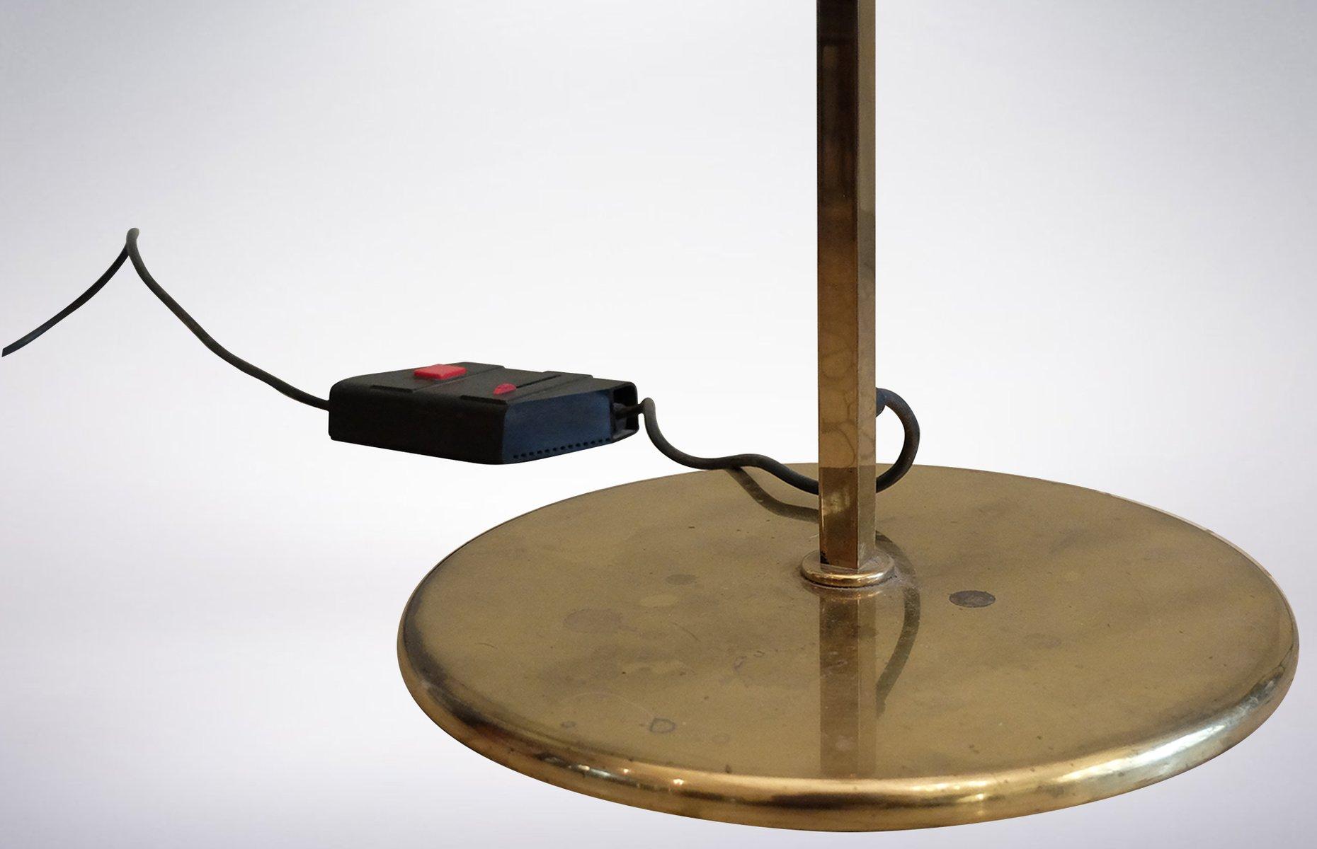 stehlampe mit kantigem schirm 1950er bei pamono kaufen. Black Bedroom Furniture Sets. Home Design Ideas