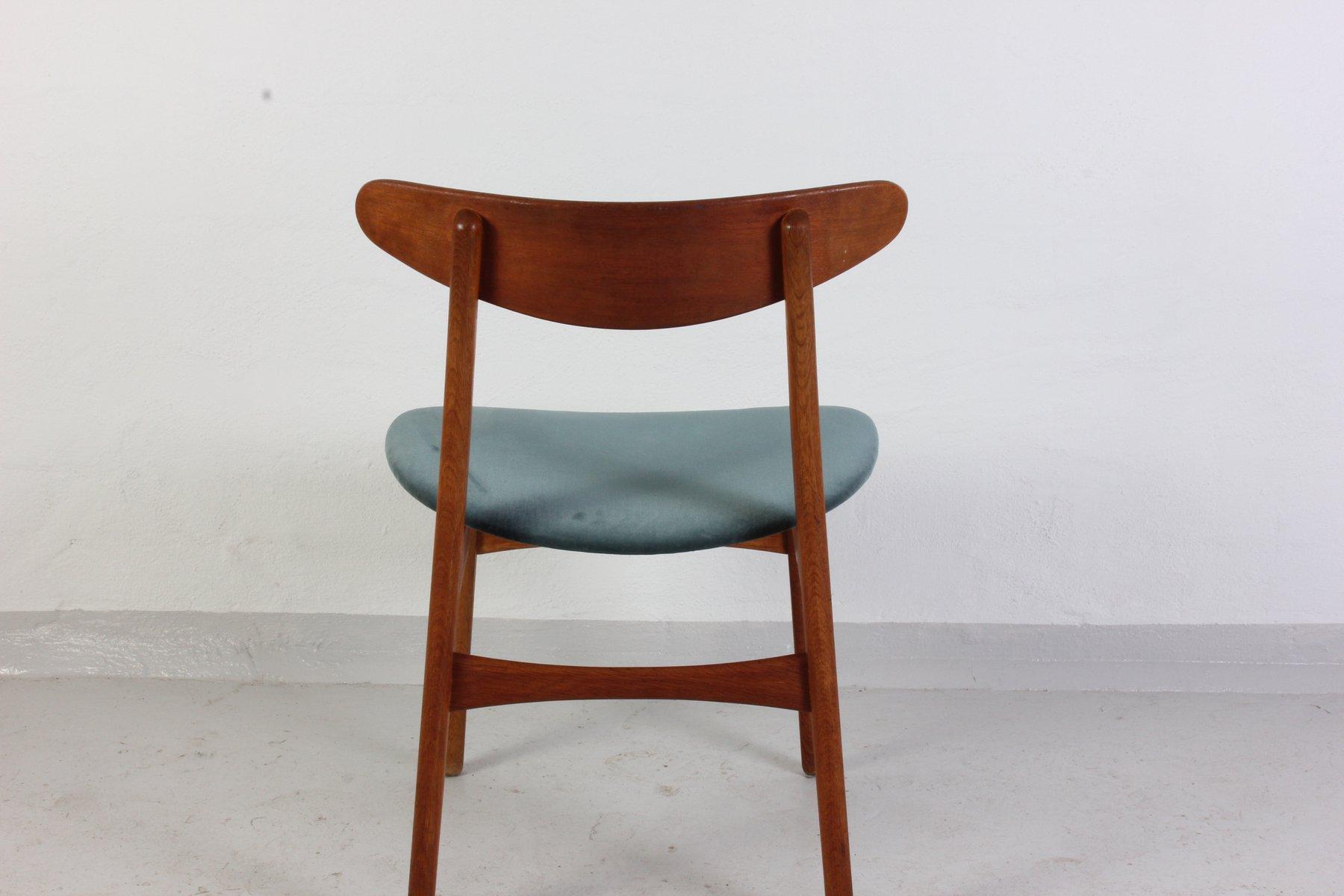 chaise ch 30 par hans j wegner pour carl hansen s n en. Black Bedroom Furniture Sets. Home Design Ideas
