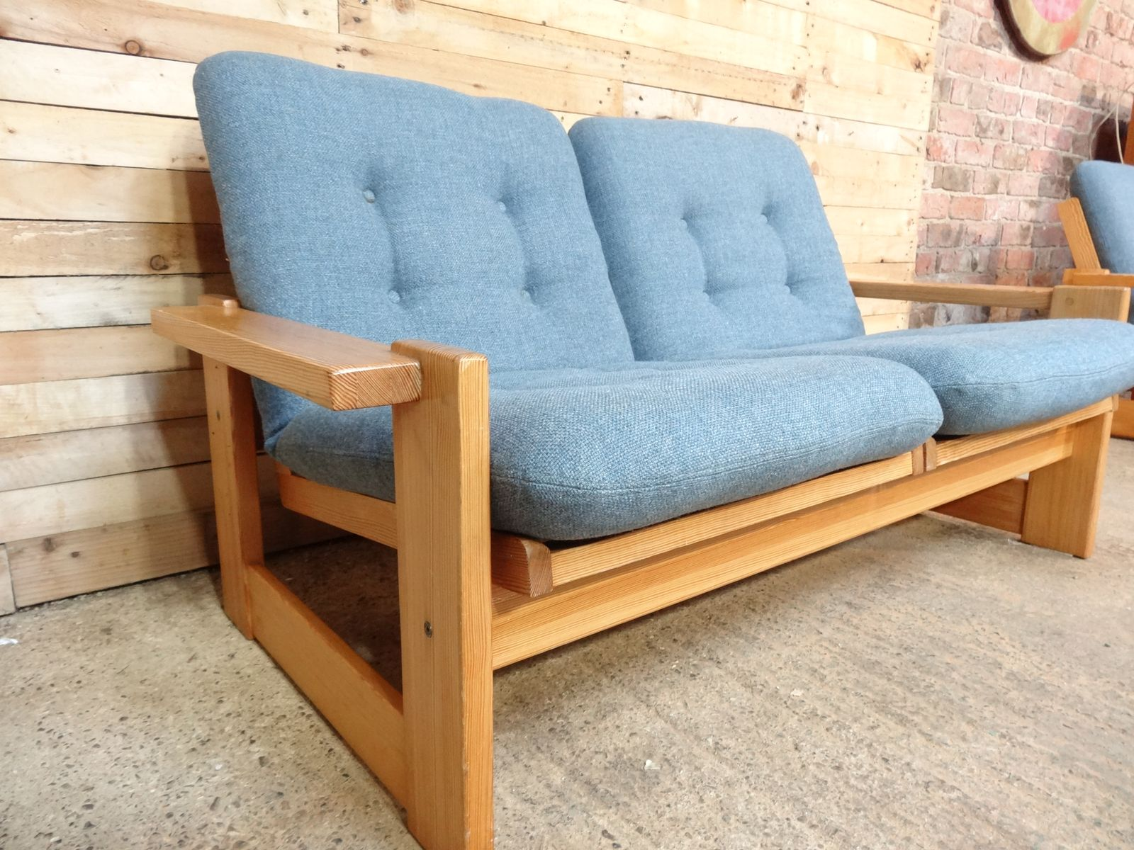 Vintage Dutch Armchairs and Two Seater Sofa Set from Pastoe 1969