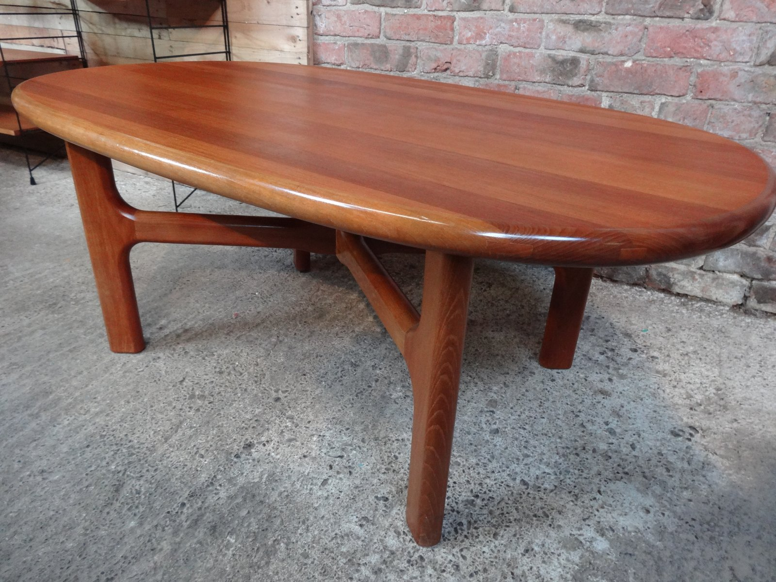 Mid century solid teak coffee table from dyrlund 1970s for sale mid century solid teak coffee table from dyrlund 1970s geotapseo Gallery