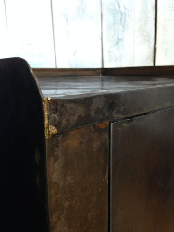 Meuble de rangement d 39 atelier vintage en m tal en vente for Meuble atelier metal
