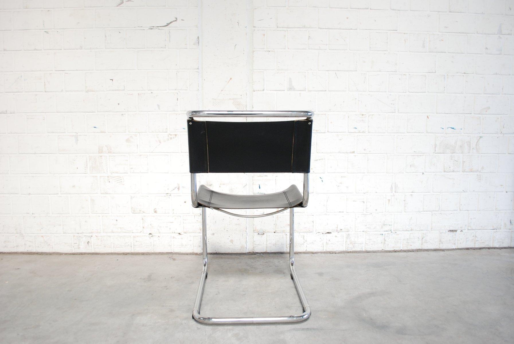 vintage s33 chairs by mart stam for thonet set of 2 for. Black Bedroom Furniture Sets. Home Design Ideas