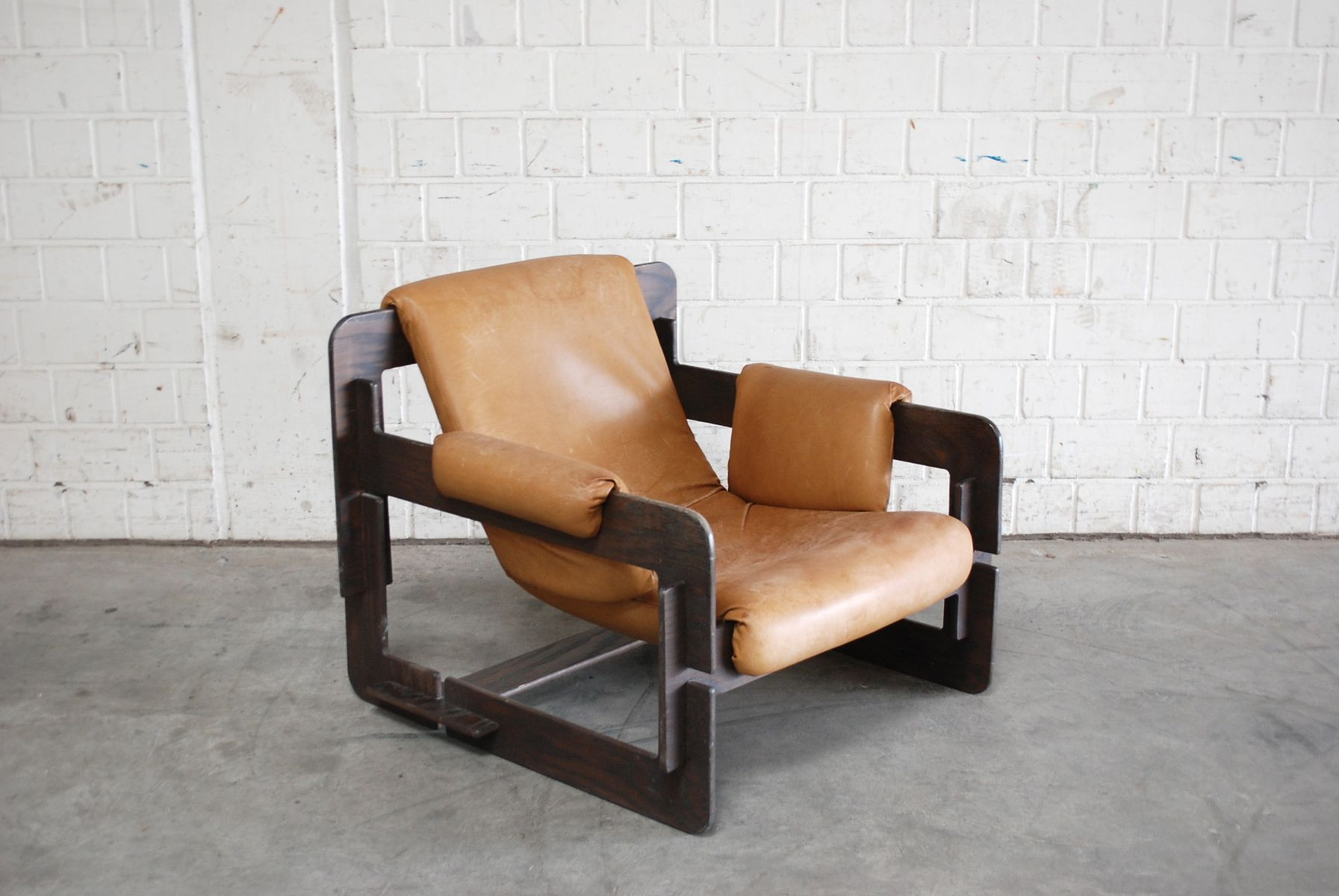 Vintage Cognac Rover Lounge Armchairs by Arne Jacobsen for ...