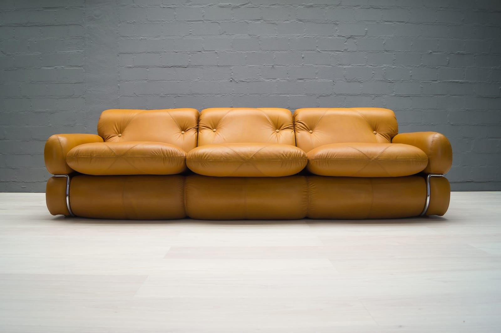 ledersofa italienisches design. Black Bedroom Furniture Sets. Home Design Ideas