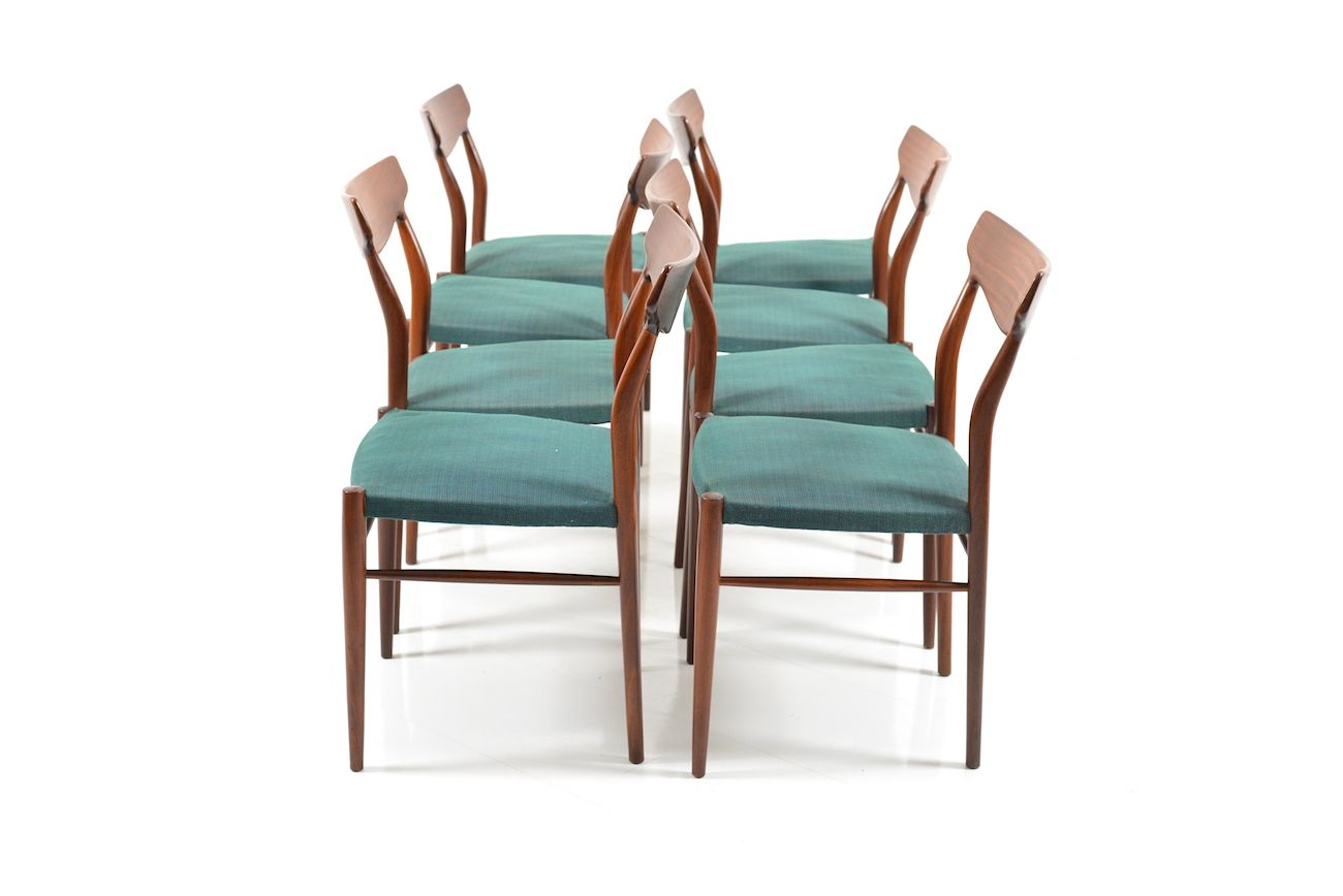 Mid Century Teak Dining Chairs from L252bke Set of 8 for  : mid century teak dining chairs from luebke set of 8 7 from www.pamono.com size 1300 x 868 jpeg 50kB