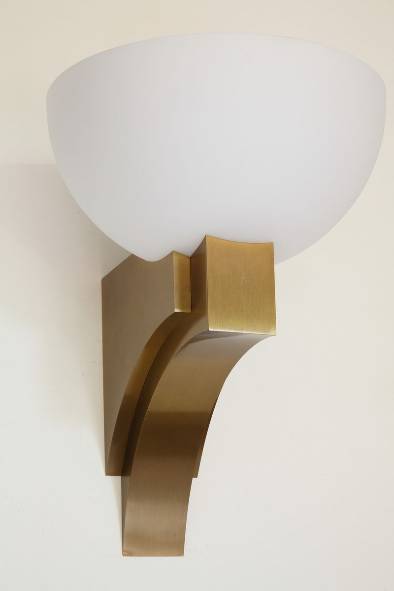 Model 348 B V Wall Light by Jean Perzel, 1970s for sale at Pamono