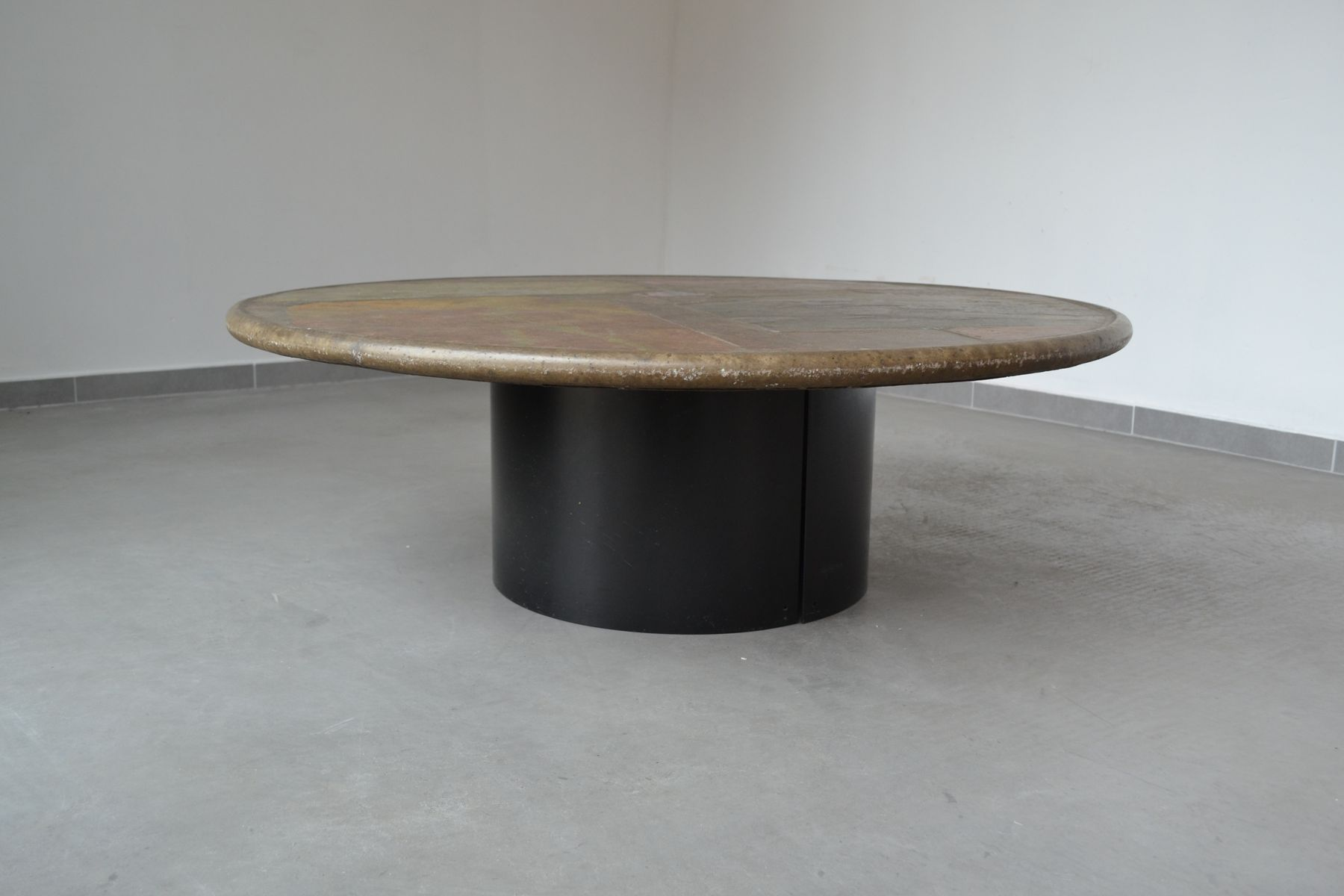 Slate Stone Coffee Table By Paul Kingma 1993 For Sale At Pamono