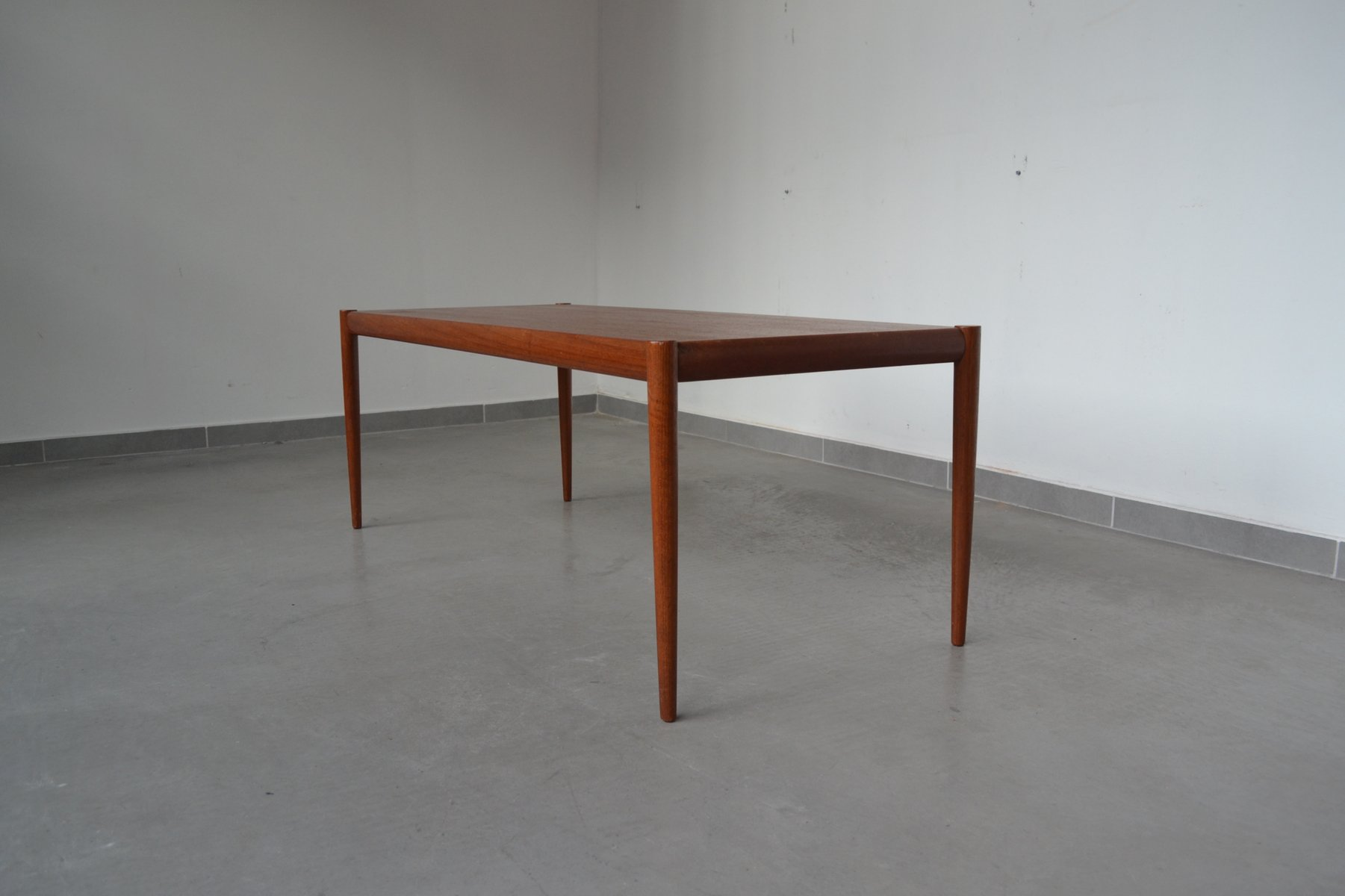 Minimalist Table Danish Minimalist Teak Coffee Table 1960s For Sale At Pamono