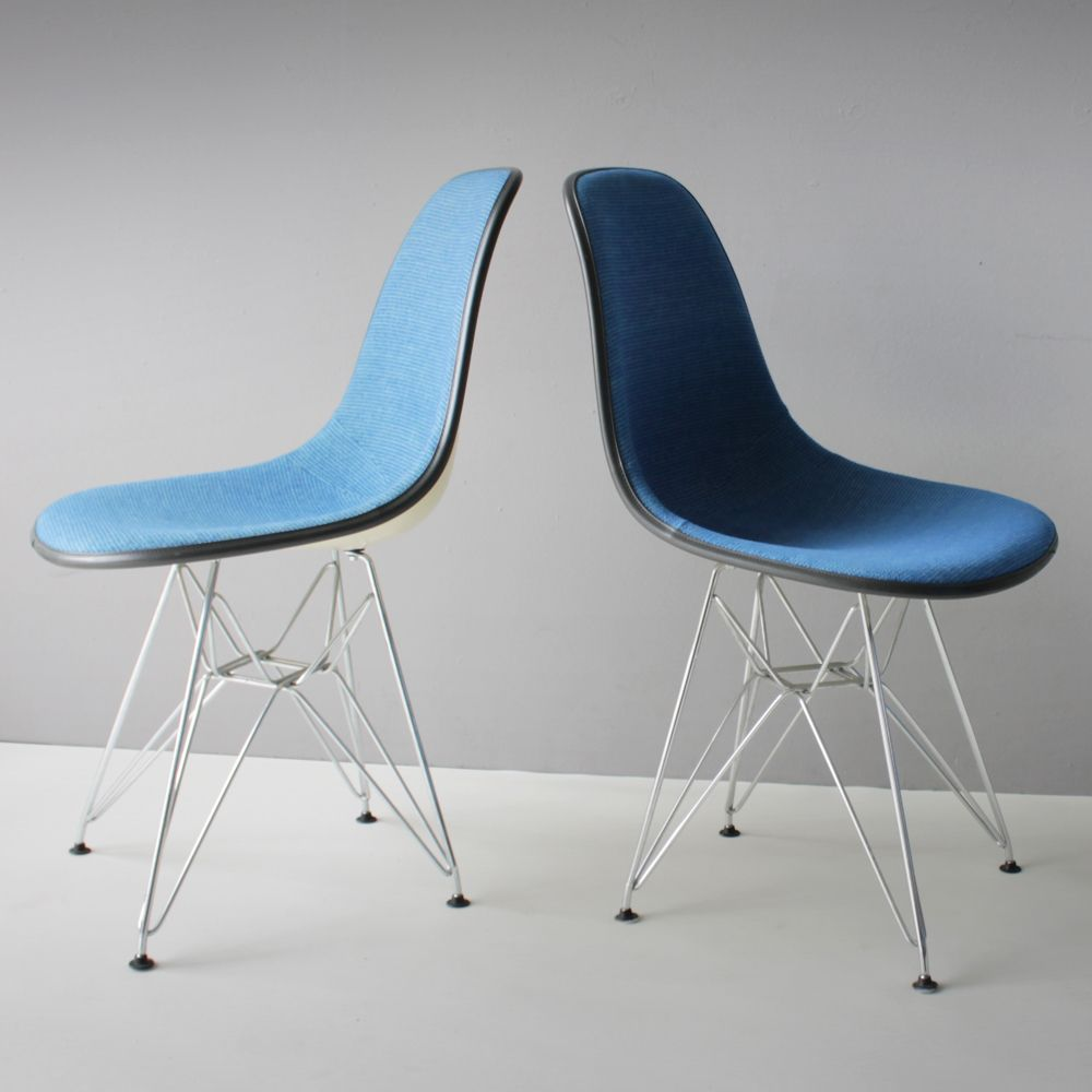 Dsr chairs by charles ray eames for herman miller 1975 set of 6 for s - Charles eames dsr chair ...