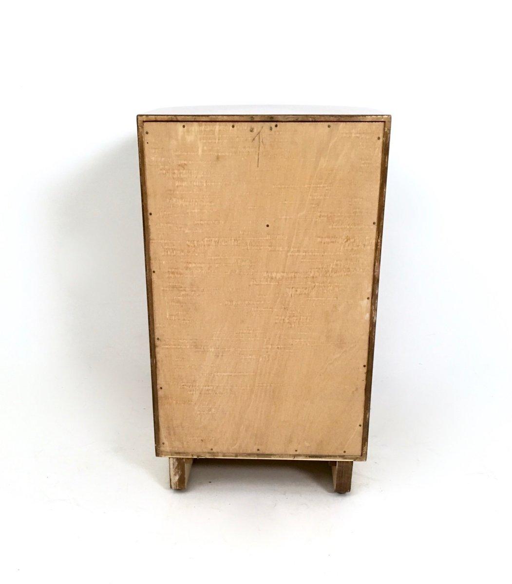 Tables de chevet art d co en noyer 1960s set de 2 en - Table de chevet art deco ...