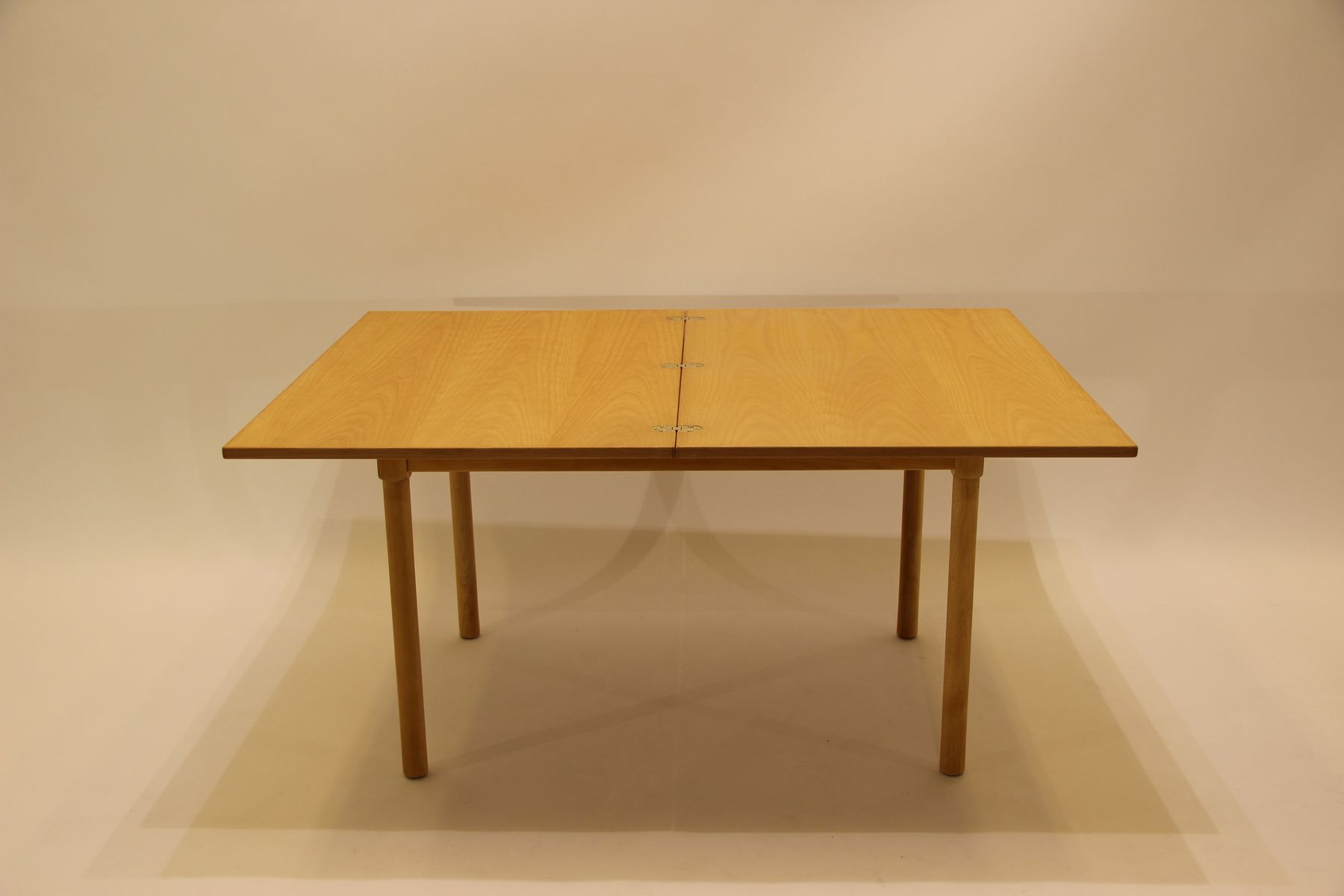 Beech Coffee Table Vintage Model 4500 Beech Coffee Table By Brge Mogensen For Fritz