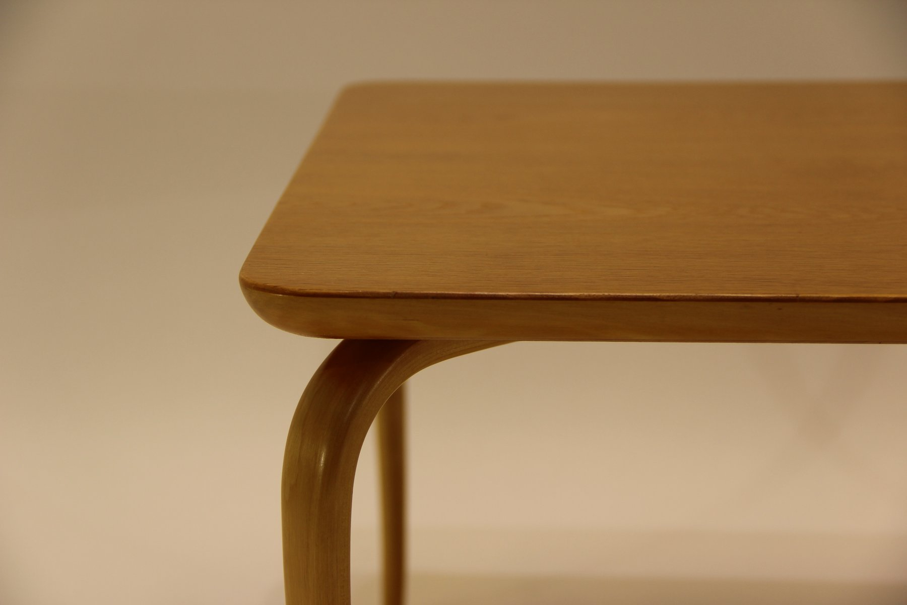 Vintage Annika Oak Beech Coffee Table By Bruno Mathsson For Karl Mathsson For Sale At Pamono