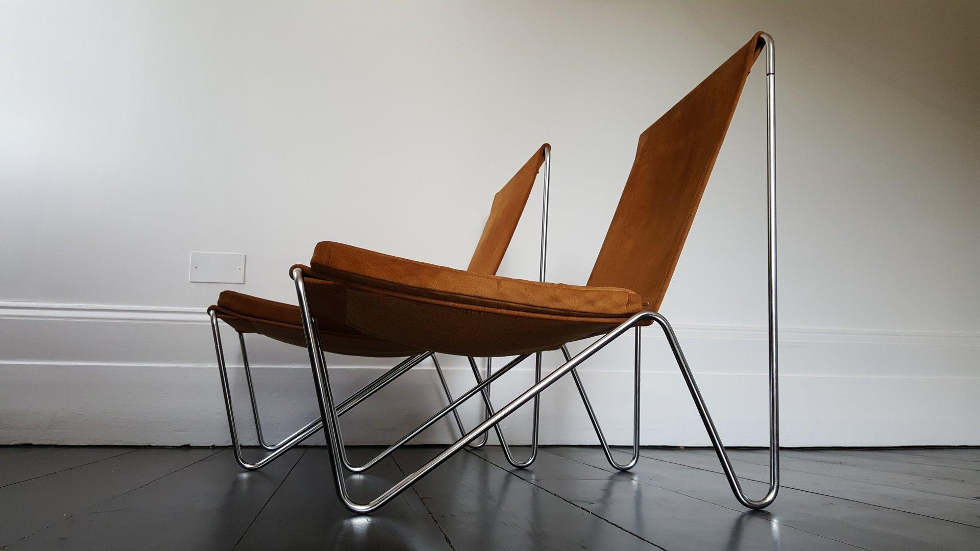 vintage modell bachelor st hle von verner panton f r fritz hansen 2er set bei pamono kaufen. Black Bedroom Furniture Sets. Home Design Ideas