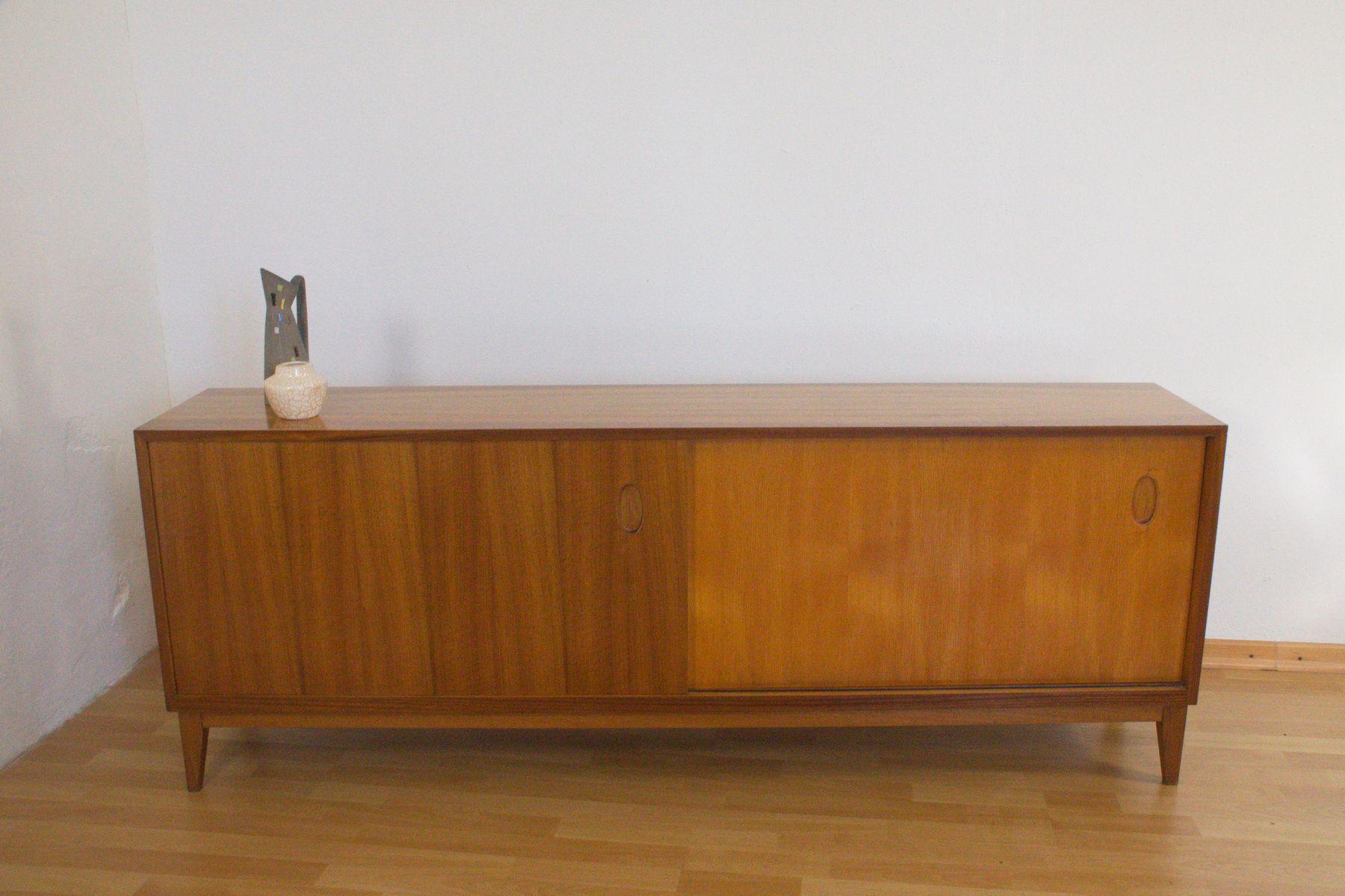 sideboard aus nussholz von georg satink f r wk m bel 1952 bei pamono kaufen. Black Bedroom Furniture Sets. Home Design Ideas