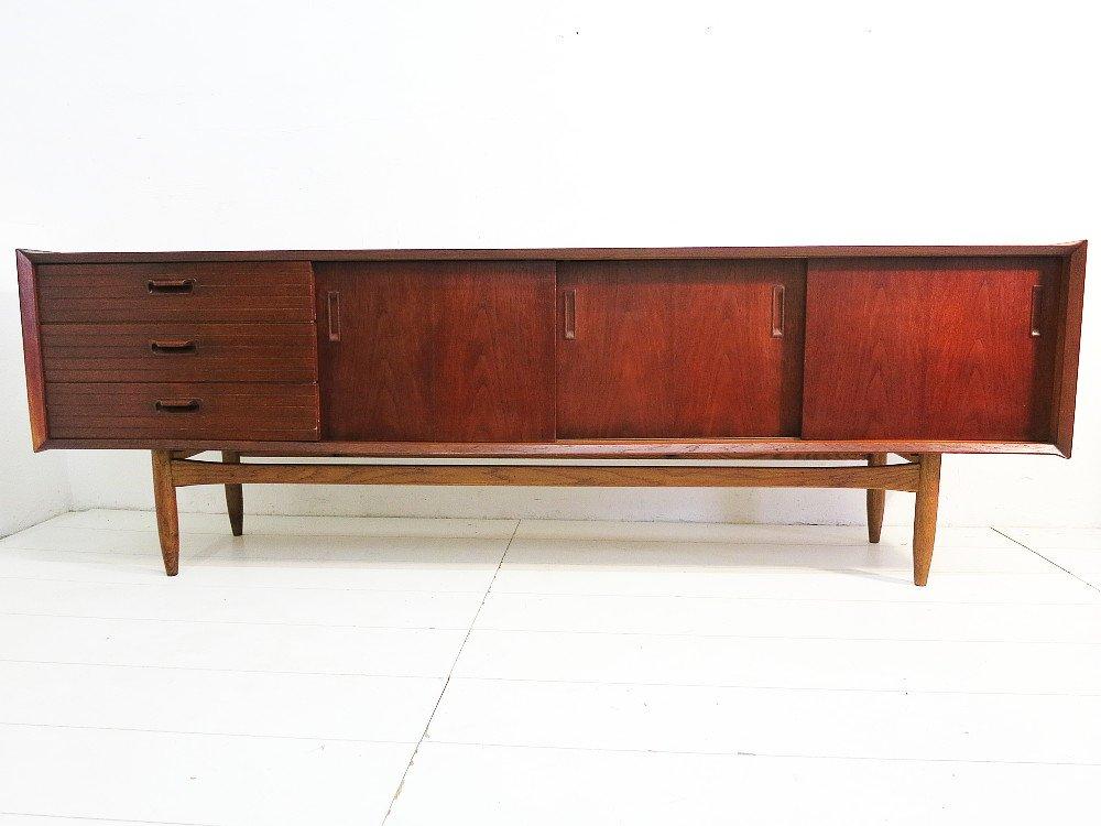 vintage scandinavian style sideboard for sale at pamono. Black Bedroom Furniture Sets. Home Design Ideas