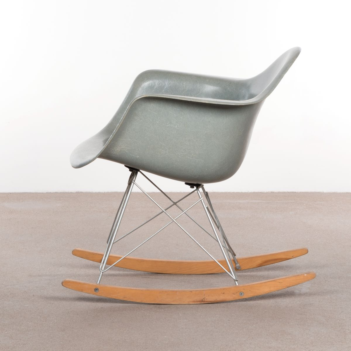 rar rocking chair by charles ray eames for herman miller 1960s for