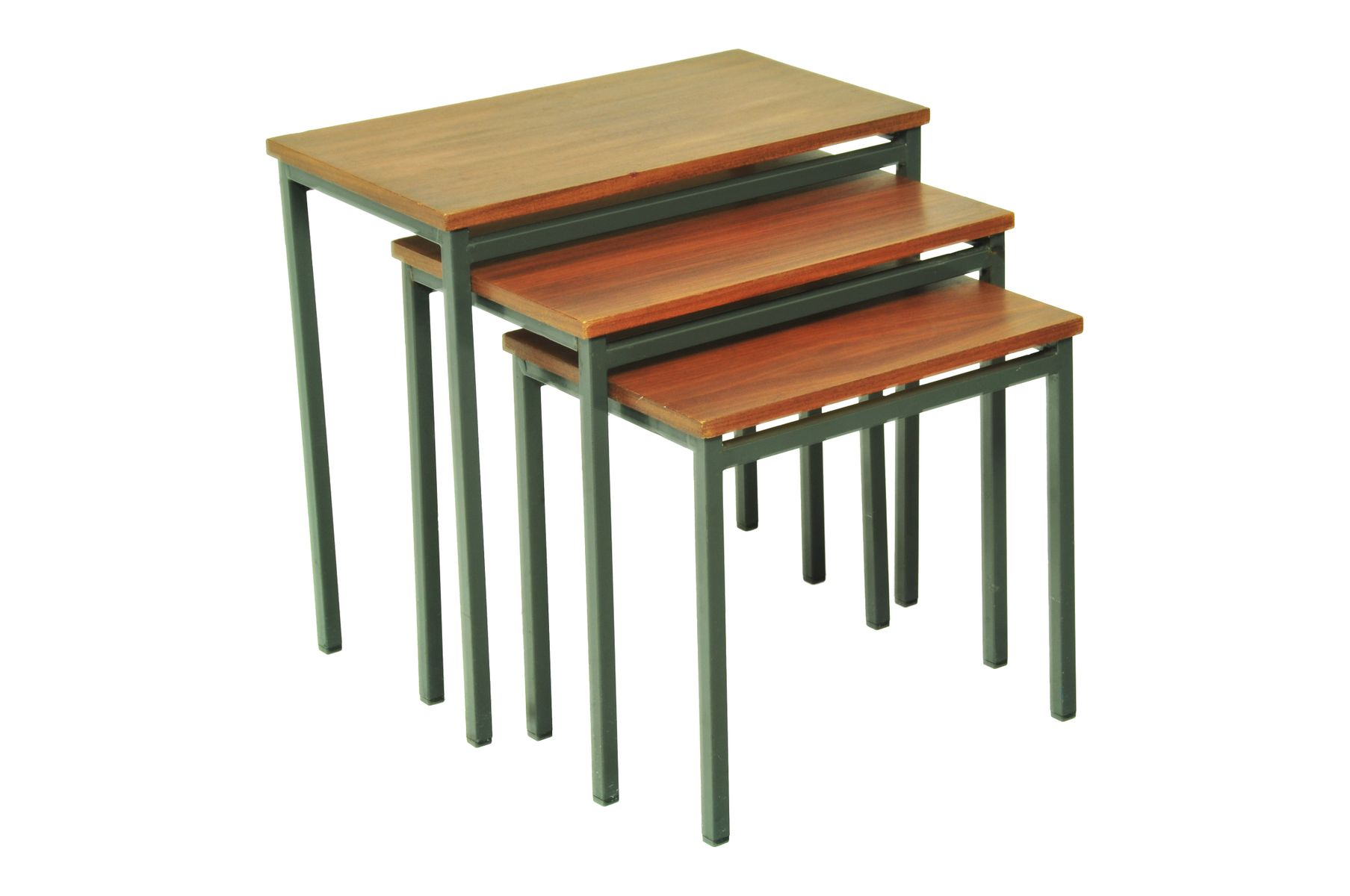 Mid Century Teak Nesting Tables For Sale At Pamono