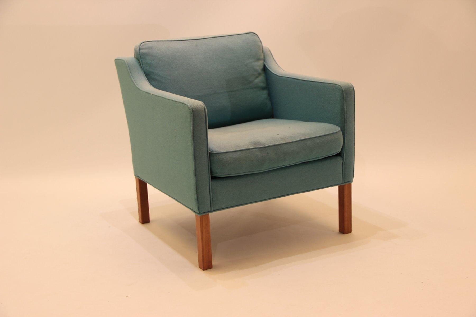 mid century 2521 sessel von b rge mogensen f r fredericia bei pamono kaufen. Black Bedroom Furniture Sets. Home Design Ideas