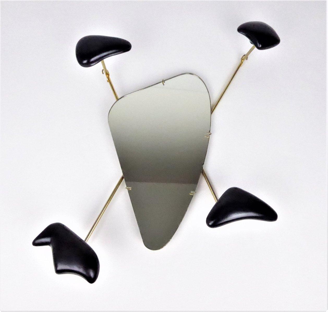 miroir par georges jouve marcel asselbur 1950s en vente