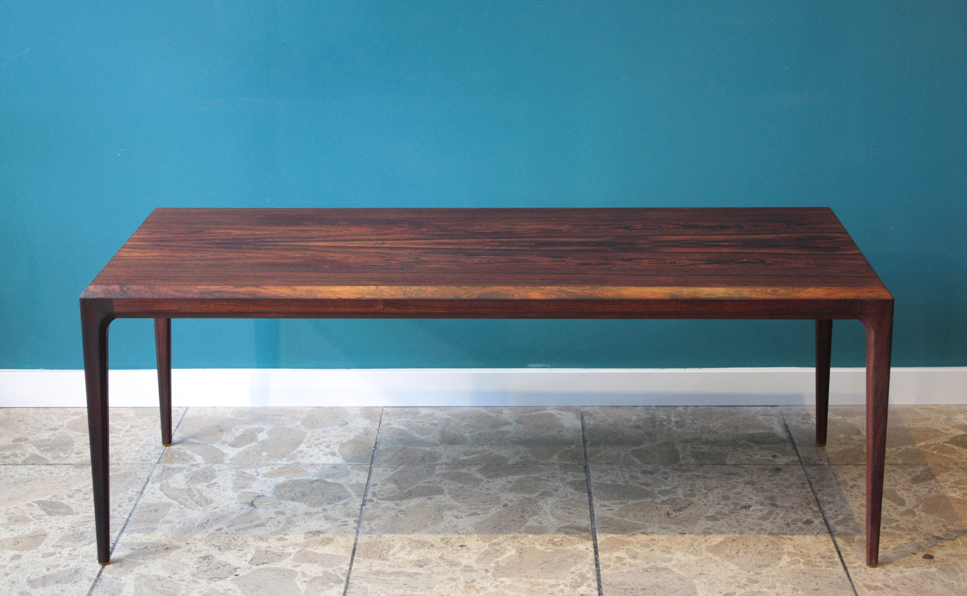Rosewood Coffee Table By Johannes Andersen For Cfc Silkeborg 1960s For Sale At Pamono