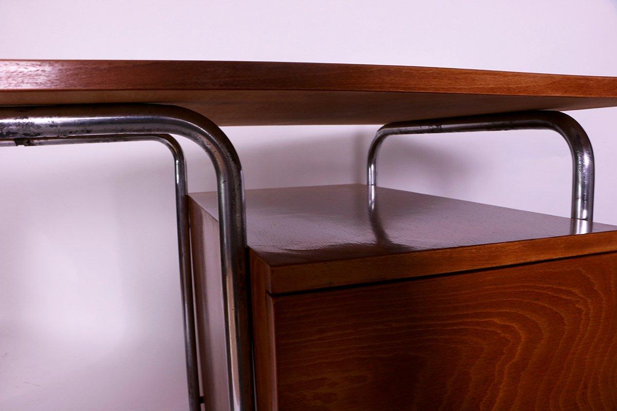 vintage bauhaus schreibtisch von robert slezak bei pamono. Black Bedroom Furniture Sets. Home Design Ideas