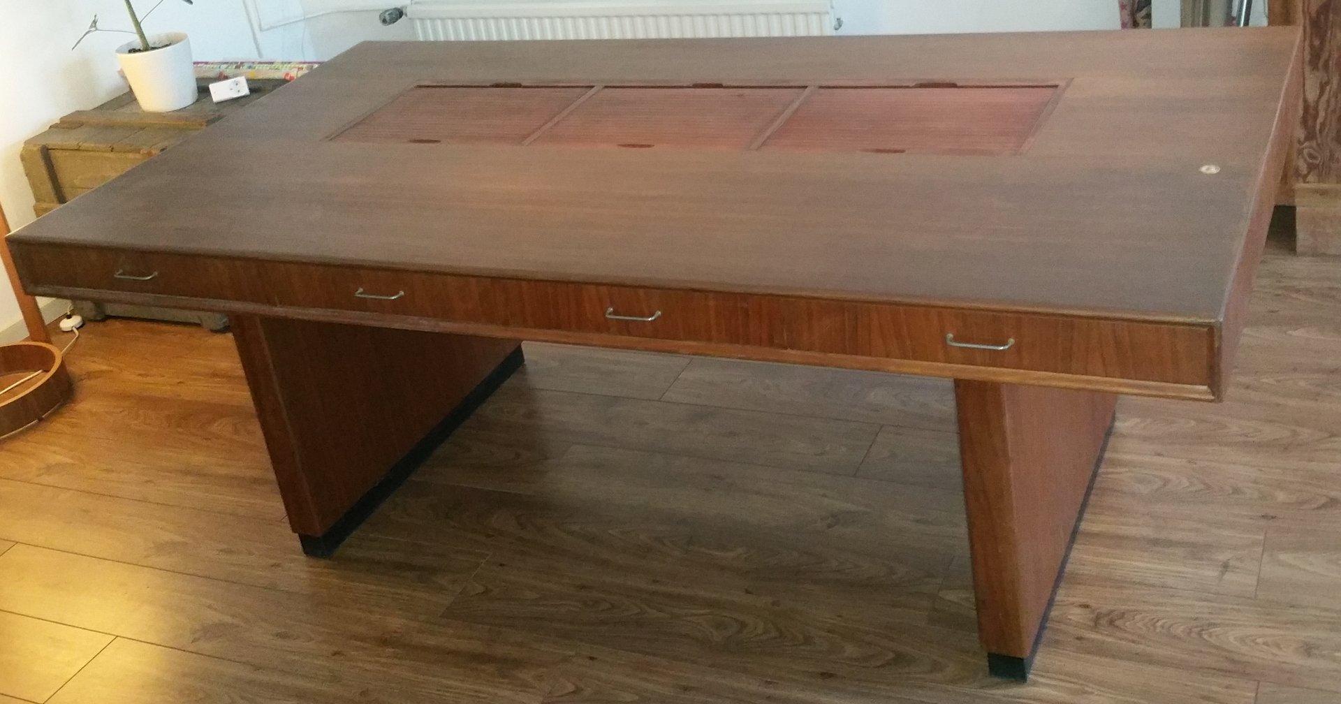 Architect Desk norwegian architect deskclausen & maerus, 1950s for sale at pamono