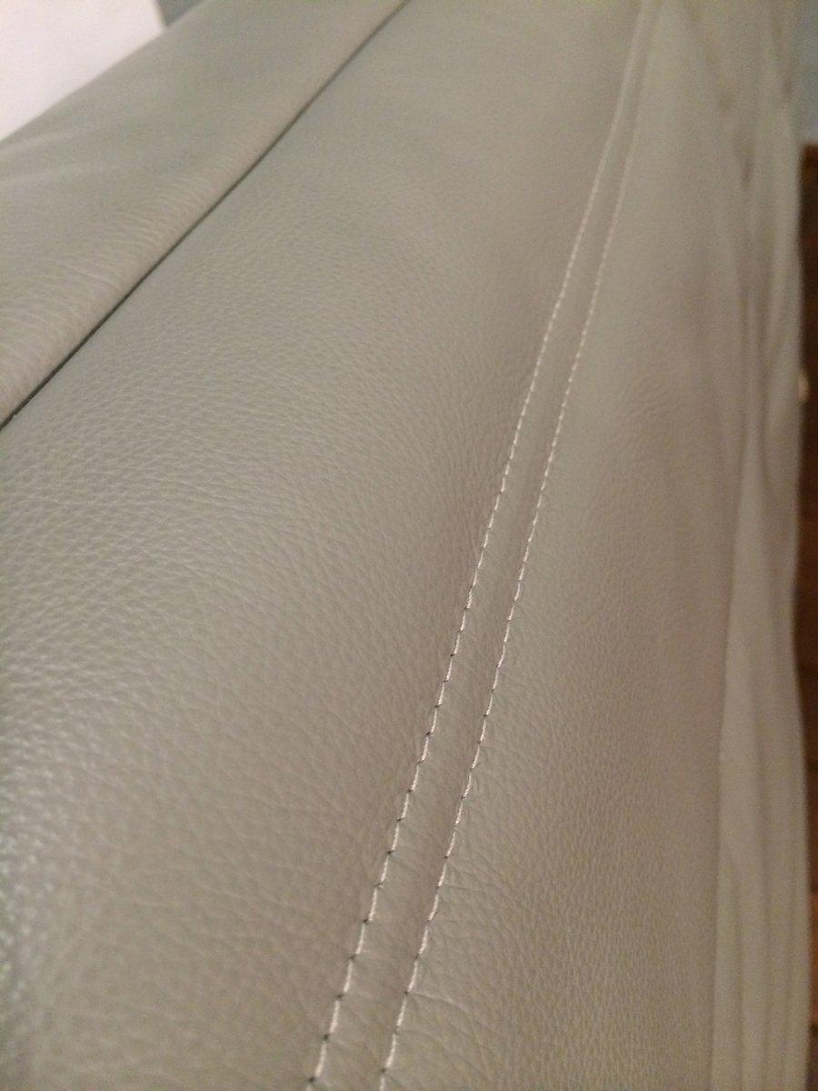 canap togo 3 places en cuir gris fonc par michel ducaroy pour ligne roset en vente sur pamono. Black Bedroom Furniture Sets. Home Design Ideas