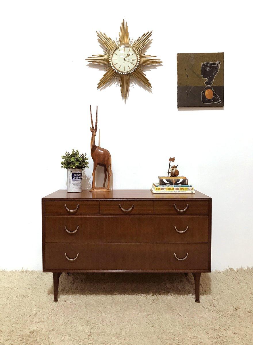 cassettiera bassa in legno scuro di meredew in vendita su pamono - Cassettiera Legno Scuro