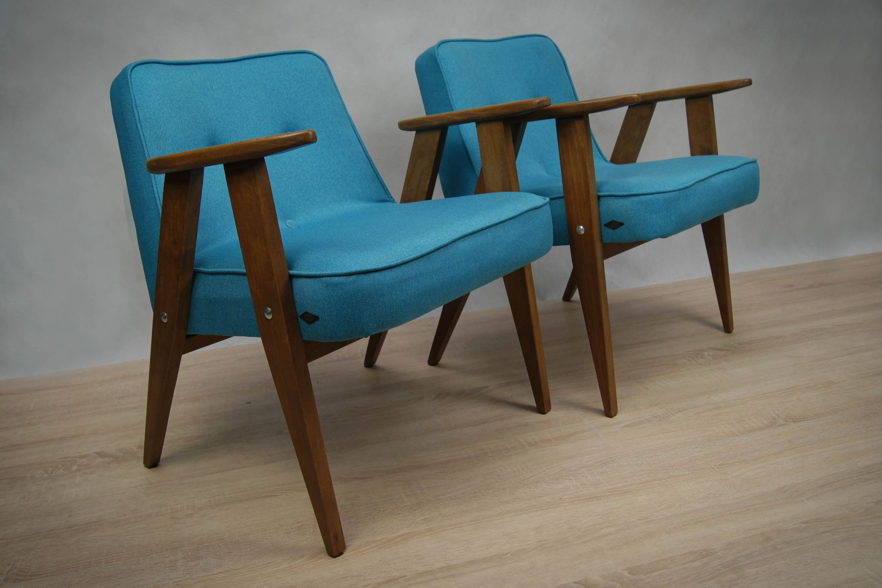 Model 366 Armchair By J Zef Chierowski For Lower Silesia