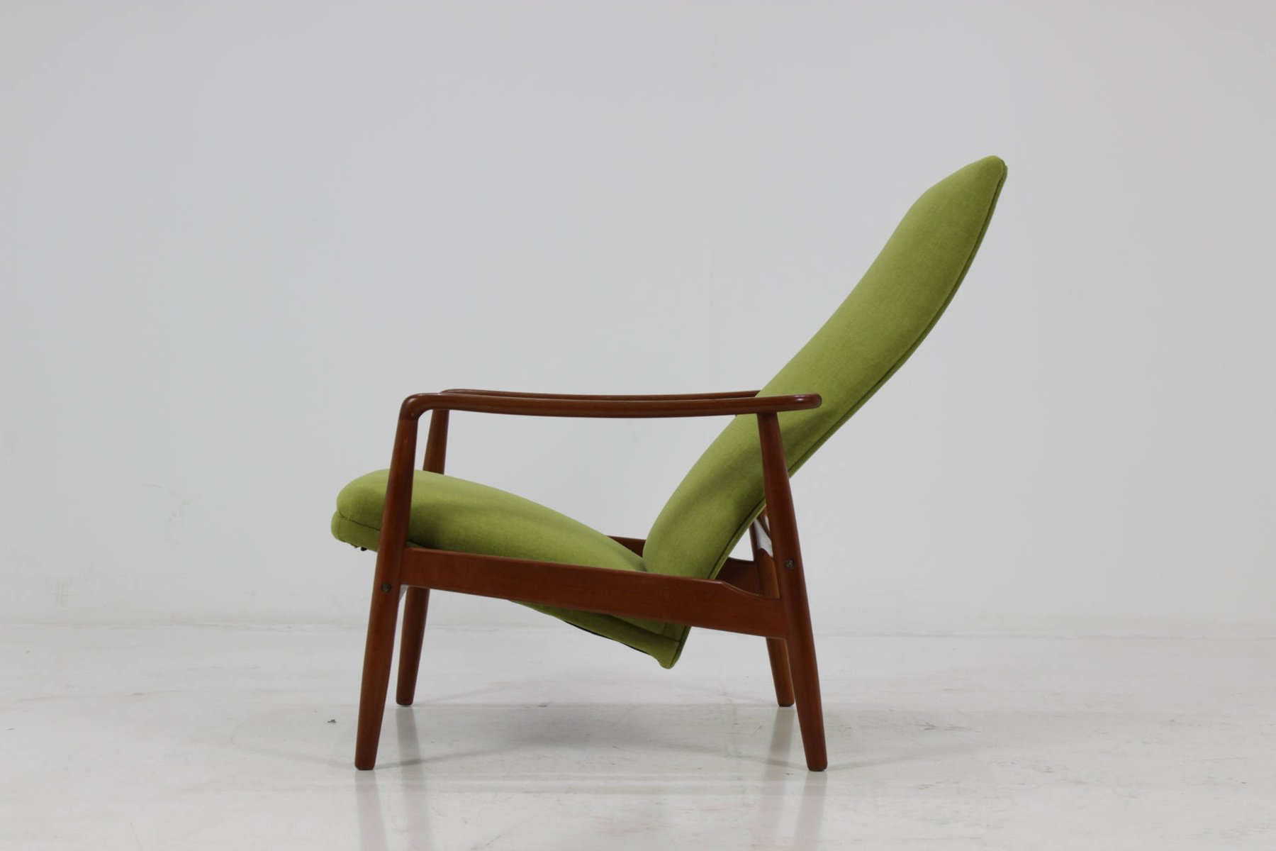 Mid century reclining lounge chair by s ren ladefoged for Z chair mid century