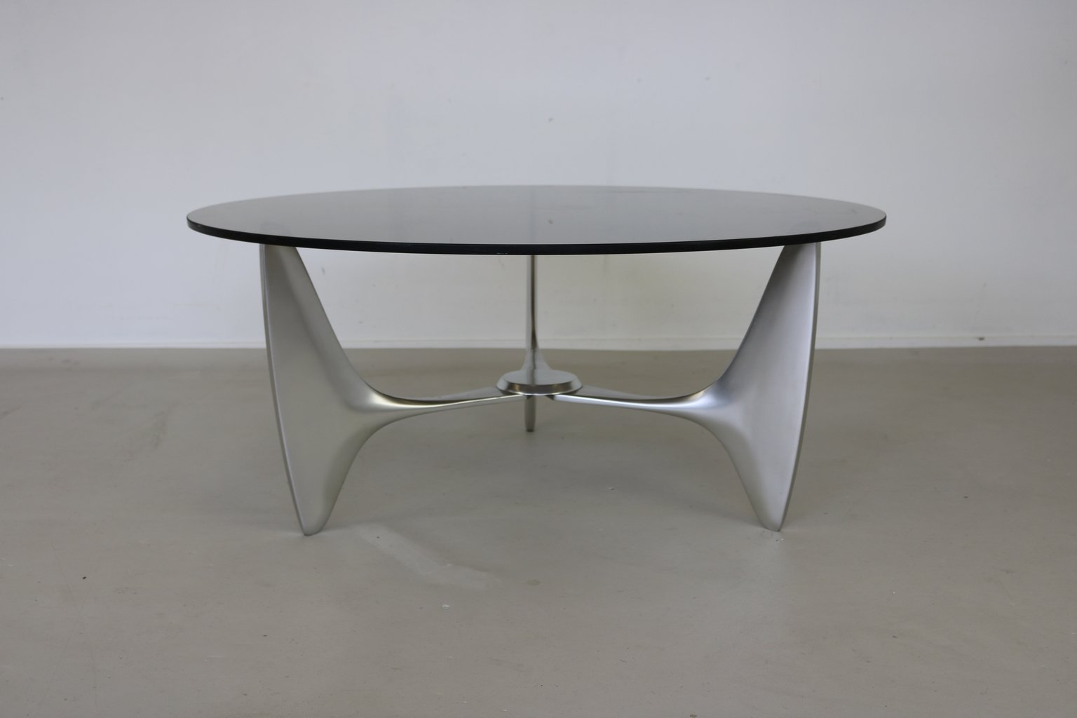 Organically Shaped Cast Aluminium Coffee Table From Ronald Schmitt 1965 For Sale At Pamono