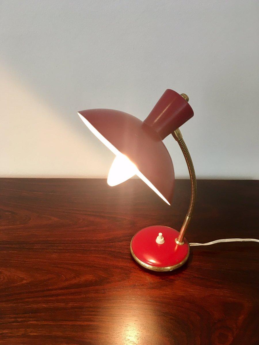 Rote vintage wand und tischlampen von ajh 2er set bei for Wand und deckenleuchten set