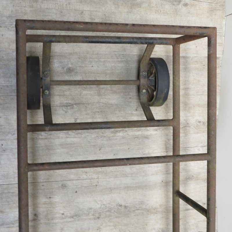 vintage industrial cart coffee table for sale at pamono. Black Bedroom Furniture Sets. Home Design Ideas