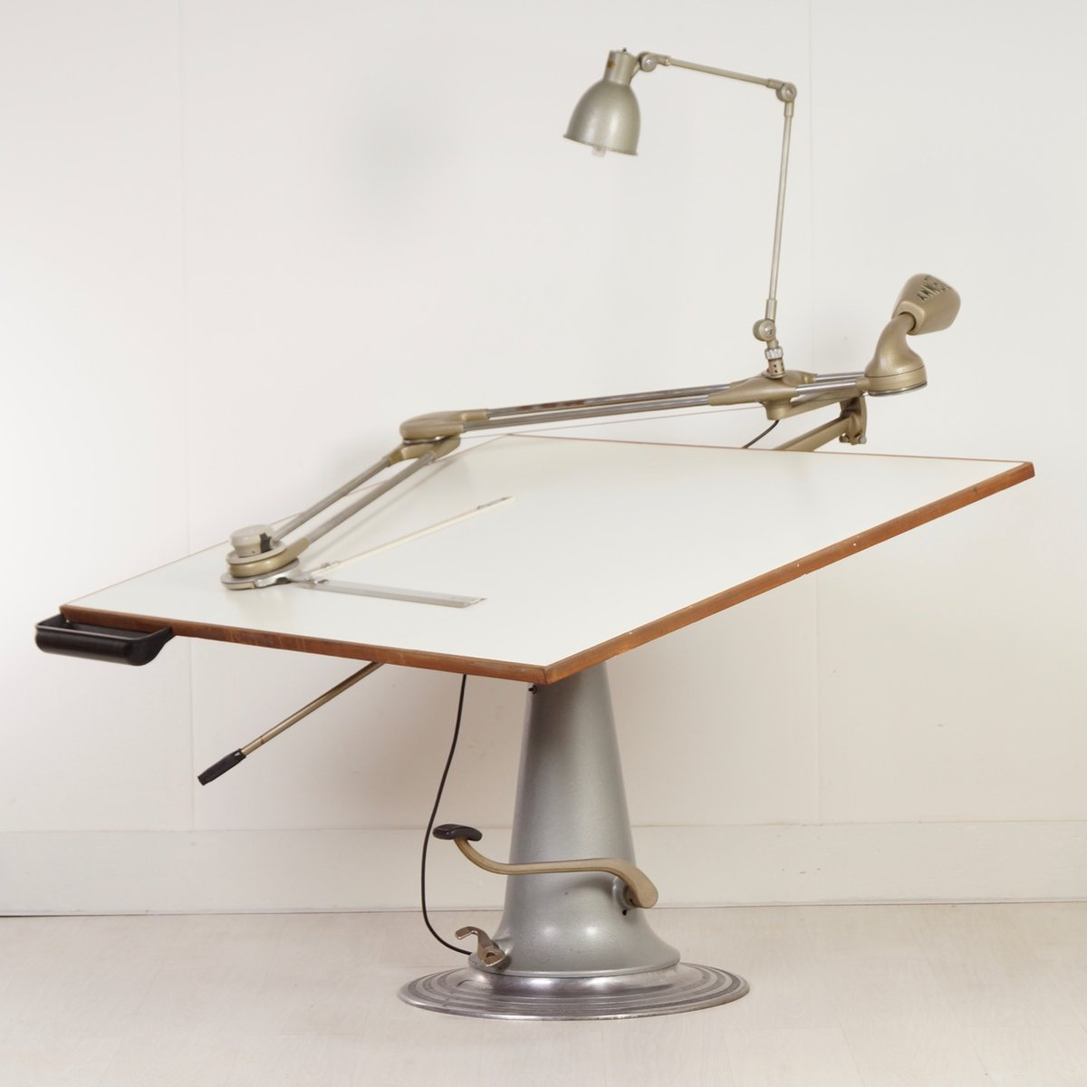 Industrial Drafting Table From Nike 1950s For Sale At Pamono