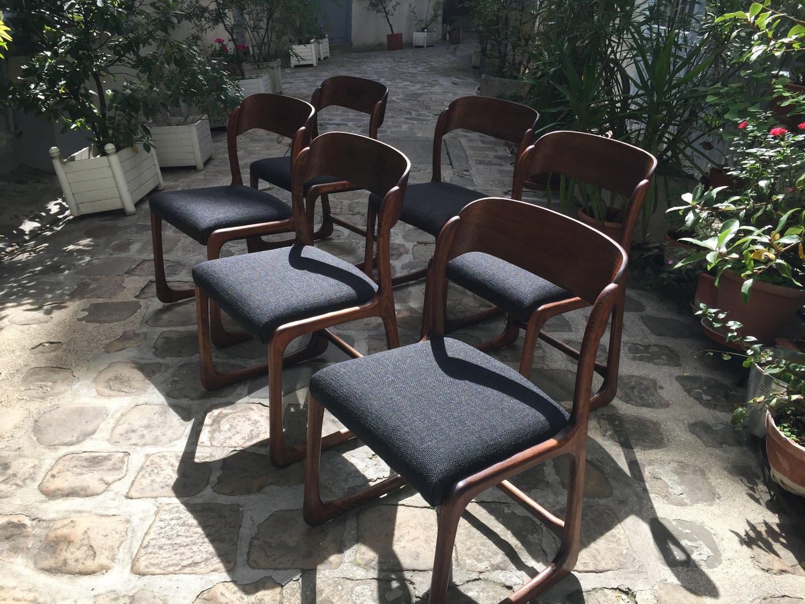 st hle 1965 6er set bei pamono kaufen. Black Bedroom Furniture Sets. Home Design Ideas