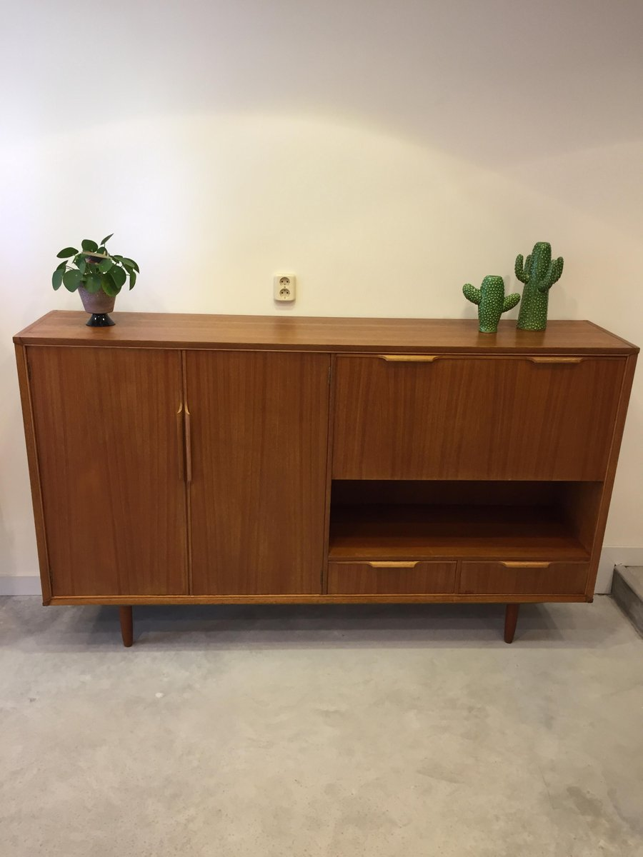 vintage highboard with storage 1960s for sale at pamono. Black Bedroom Furniture Sets. Home Design Ideas