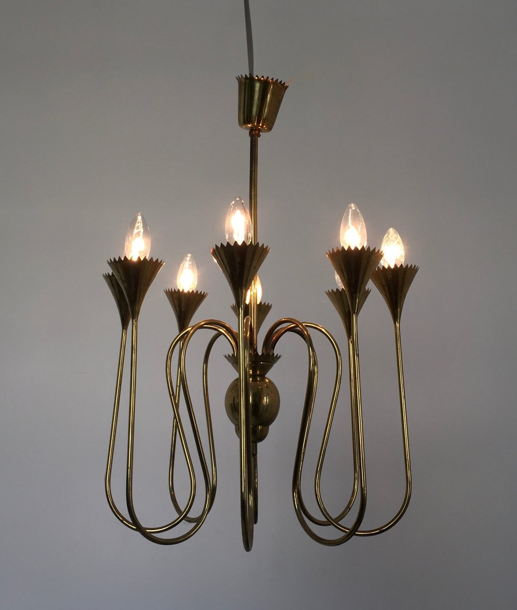 Italian Chandelier 1940s for sale at Pamono