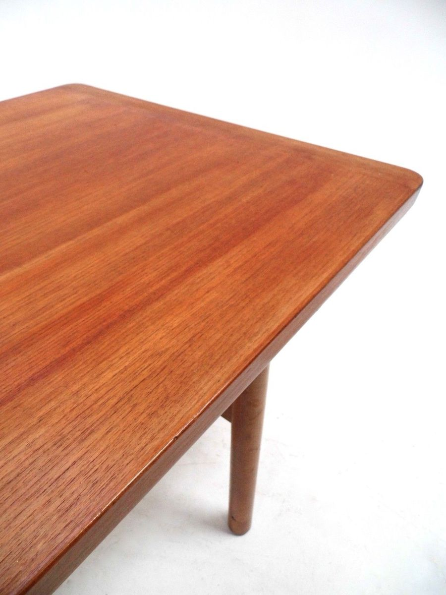 Mid Century Scandinavian Large Teak Coffee Table 1960s For Sale At Pamono