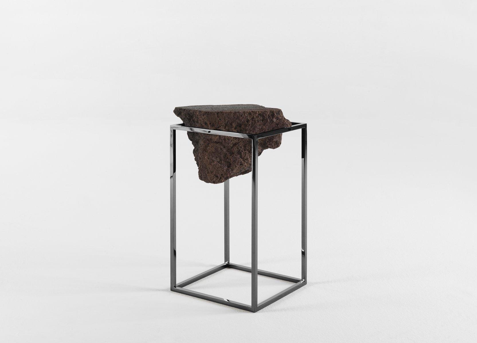 hoher chrom antivol tisch von ctrlzak f r jcp bei pamono kaufen. Black Bedroom Furniture Sets. Home Design Ideas