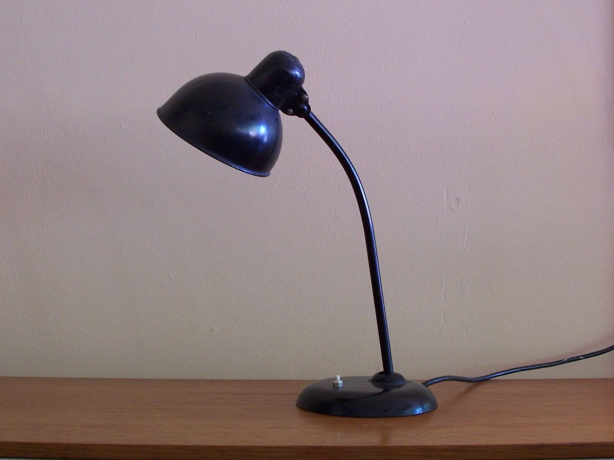 vintage desk lamp from kaiser idell for sale at pamono. Black Bedroom Furniture Sets. Home Design Ideas
