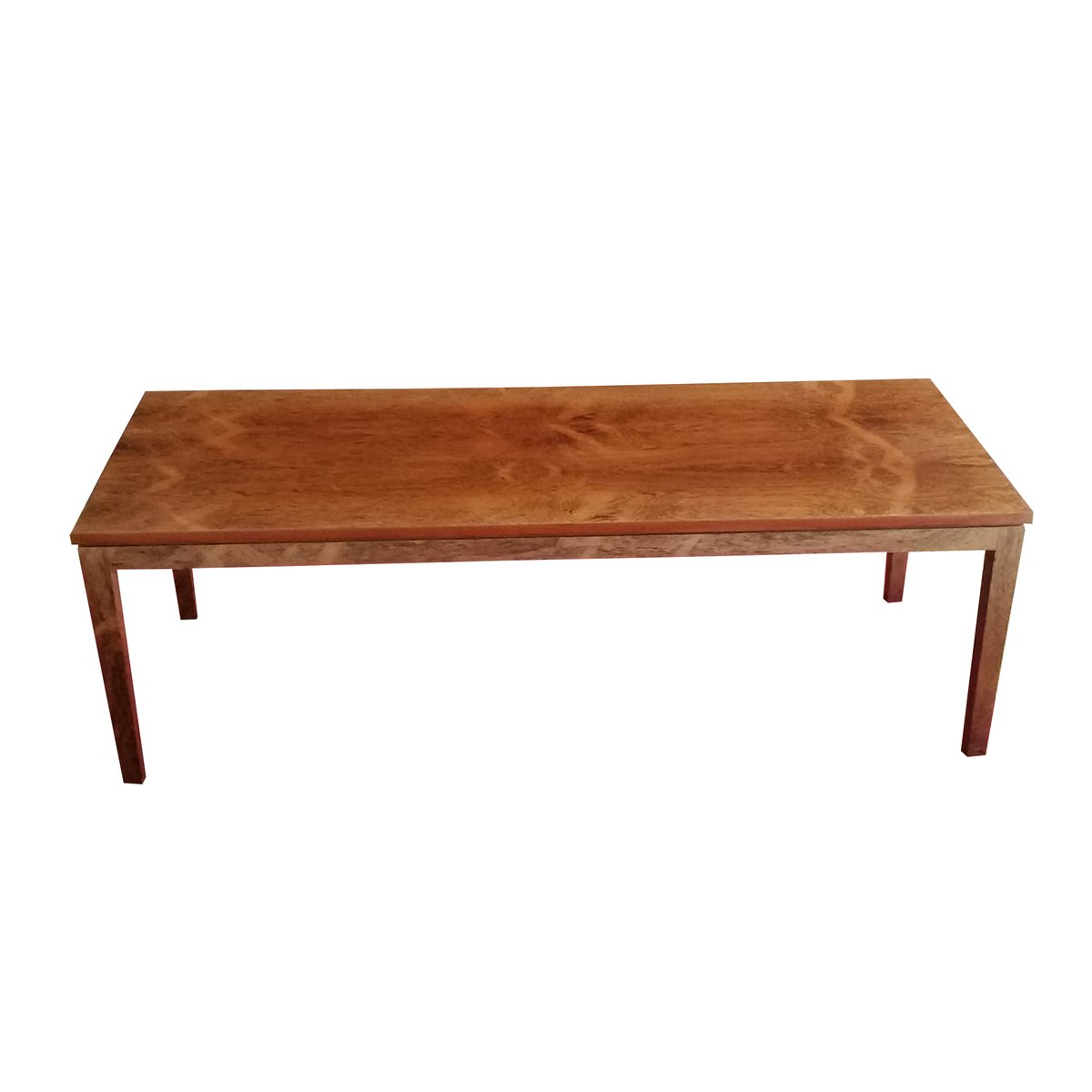 Vintage large rosewood coffee table for sale at pamono Wide coffee table